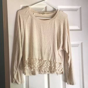 Cream Monteau sweater from Nordstrom